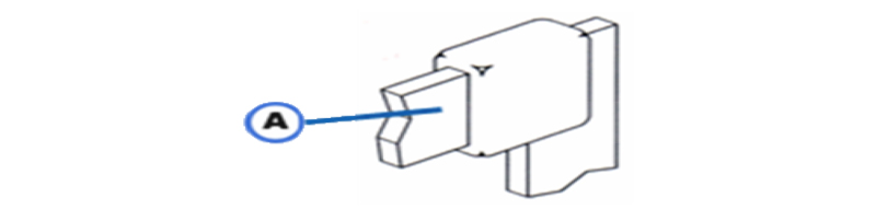 ABB-2 Horizontal to Vertical at Right Angle