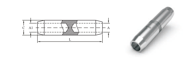 COMPRESSION CONNECTORS WITH SOLID BARRIER