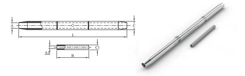 Compression Midspan Joints – Aluminium