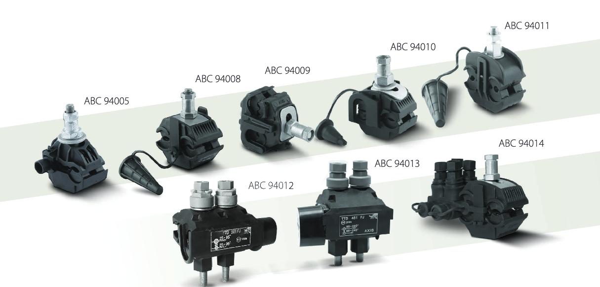 Axis's range of Insulation Piercing Connectors (IPC)