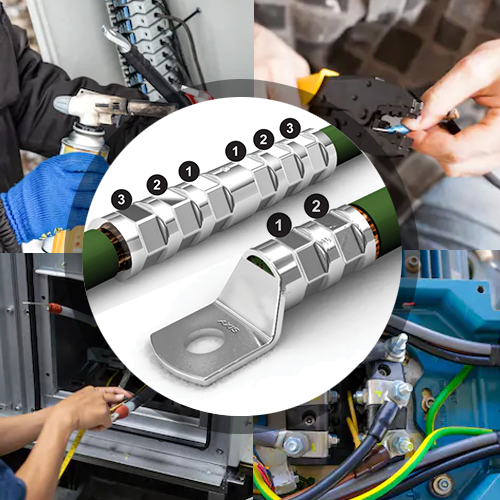 Compression Cable Lugs & Connectors: Applications & Installation